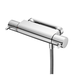 Ideal Standard Alto Ecotherm Thermostatic Exposed Shower Valve with Lever Handles Chrome - A5637AA IS10581