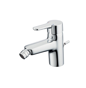Ideal Standard Concept Blue Single Lever Bidet Mixer Tap with Pop-Up Waste Chrome - B9988AA IS10614