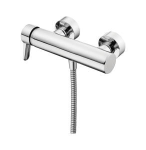 Ideal Standard Concept Blue Single Lever Wall Mounted Exposed Shower Bar Valve Bottom Outlet Chrome - B9991AA IS10579