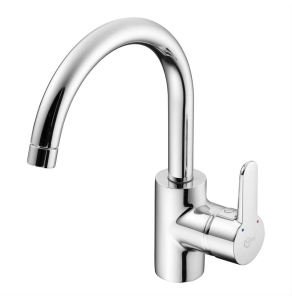 Ideal Standard Concept Blue Kitchen Mixer Tubular Spout Chrome - B9993AA IS10647