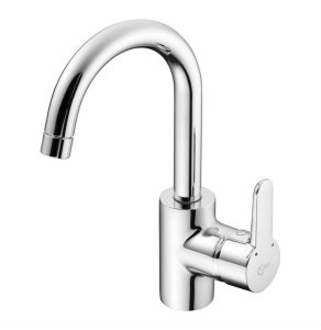Ideal Standard Concept Blue Single Lever Basin Mixer with Tubular Spout Chrome - B9994AA IS10615