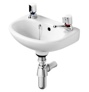 Ideal Standard Studio Basin 350mm Wide 2 Tap Holes - E117001 IS10134