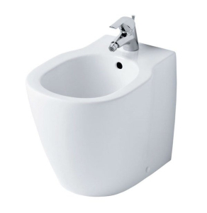 Ideal Standard Concept Free Standing Bidet 360mm Wide 1 Tap Hole - E799401 IS10654
