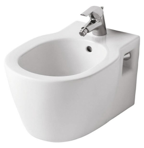 Ideal Standard Concept Wall Hung Bidet 360mm Wide 1 Tap Hole - E799601 IS10659