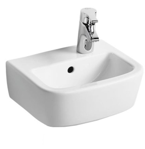 Ideal Standard Tempo Handrinse Washbasin 350mm Wide Right Hand 1 Tap Hole - T059701 IS10127