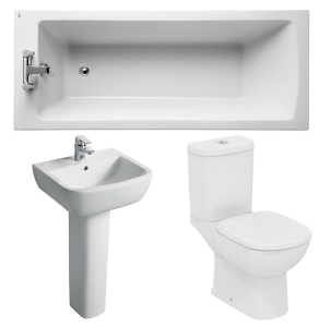 Ideal Standard Tempo Modern Bathroom Suite 1 White IS10014