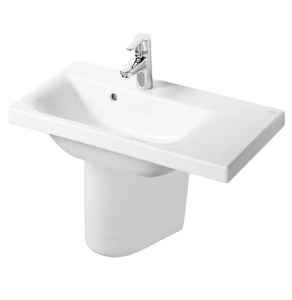 Ideal Standard Concept Space Right Hand Basin and Semi Pedestal 700mm x 380mm 1 Tap Hole IS10287