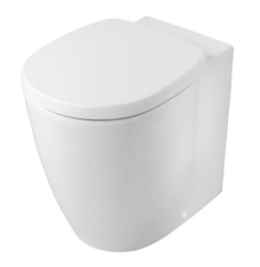Ideal Standard Concept Freedom Raised Height Back to Wall Toilet - Soft Close Seat IS10084