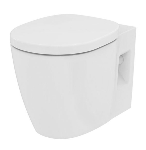 Ideal Standard Concept Freedom Raised Height Wall Hung Toilet 545mm Projection - Standard Seat IS10074