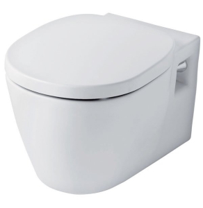 Ideal Standard Concept Wall Hung Toilet with Standard Seat 545mm Projection White IS10061
