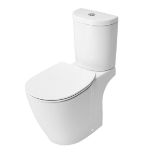 Ideal Standard Concept Arc Close Coupled WC Toilet Push Button Cistern Soft Close Seat White IS10089