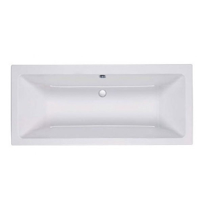 Roca The Gap Double Ended Rectangular Bath 1700mm x 700mm - 0 Tap Hole - 24722000 RO10465