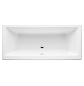 Roca Easy Double Ended Acrylic Bath with Feet 1700mm x 700mm 0 Tap hole - 248337000 RO10489