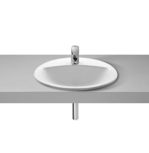 Roca Rodeo Inset Countertop Basin 520mm W - 1 Tap Hole - 327866000 RO10312