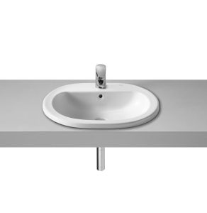 Roca Coral Inset Countertop Basin 560mm W - 1 Tap Hole - 327898000 RO10300