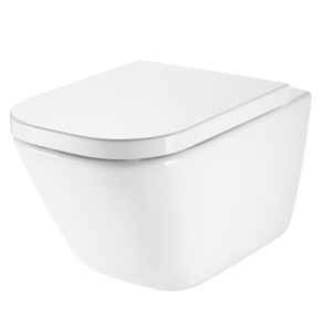 Roca The Gap Rimless Wall Hung WC Pan In White - 34647L000 RO10030