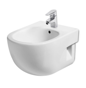 Roca Meridian-N Compact Bidet 480mm Projection - 1 Tap Hole RO10165