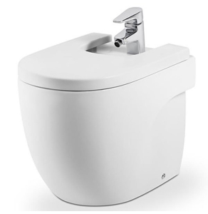 Roca Meridian-N Compact Bidet 520mm Projection 1 Tap Hole - 357247000 RO10116