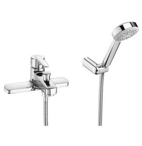 Roca Vectra Bath Shower Mixer Deck Mounted - Chrome - 5A1861C00 RO10598
