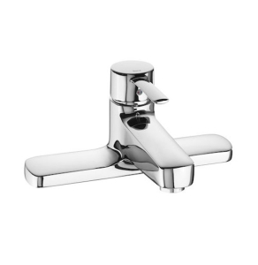 Roca Targa Bath Filler Tap Deck Mounted In Chrome - 5A1960C00 RO10554