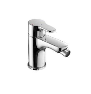 Roca L20 Cold Start Bidet Mixer Tap with Chain Connector In Chrome - 5A6109C00 RO10580