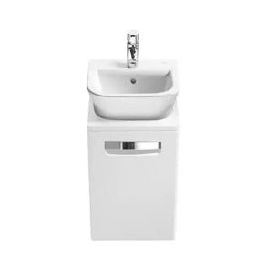 Roca The Gap 1-Drawer Bathroom Vanity Unit 400mm W - White - 856521576 RO10358
