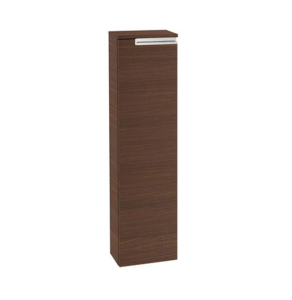 Roca Victoria-N Right Handed Column Unit, 250mm Wide, Textured Wenge - 856661154 RO10391