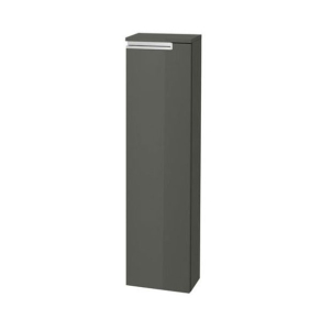 Roca Victoria-N Left Handed Column Unit, 250mm Wide, Grey - 856662153 RO10390