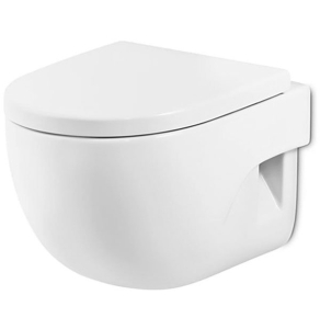 Roca Meridian-N Wall Hung Toilet, 560mm Projection, Standard Seat RO10153