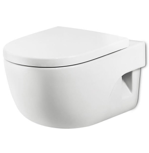 Roca Meridian-N Compact Wall Hung Toilet, 480mm Projection, Standard Seat RO10152