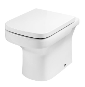 Roca Dama-N Back to Wall Toilet, 520mm Projection, Soft Close Seat RO10093