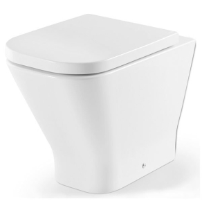 Roca The Gap Back to Wall Toilet, 540mm Projection, Soft Close Seat RO10034