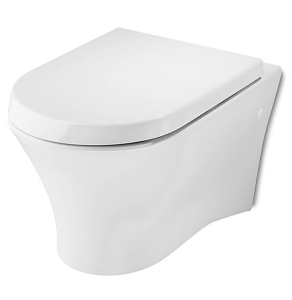 Roca Nexo Wall Hung Toilet WC 535mm Projection - Soft Close Seat RO10281