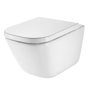 Roca The Gap Rimless Wall Hung Toilet, 540mm Projection, Soft Close Seat RO10037