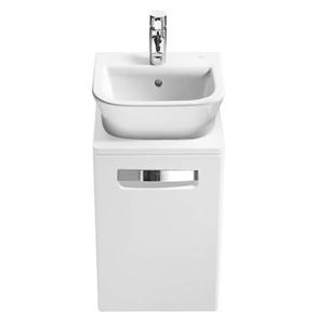 Roca The Gap 1-Drawer Bathroom Vanity Unit with Basin 450mm W - White RO10369