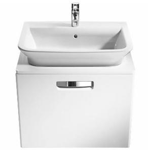 Roca The Gap 1-Drawer Bathroom Vanity Unit with Basin 500mm W - White RO10372