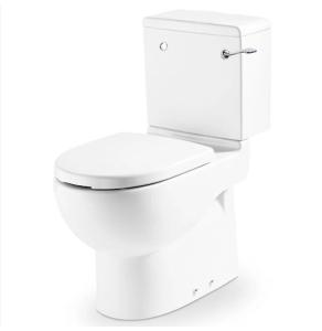 Roca Meridian-N Close Coupled Toilet WC Single Flush Cistern - Standard Seat RO10161