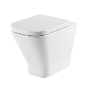 Roca The Gap Back to Wall Toilet WC 610mm Projection - Soft Close Seat RO10040