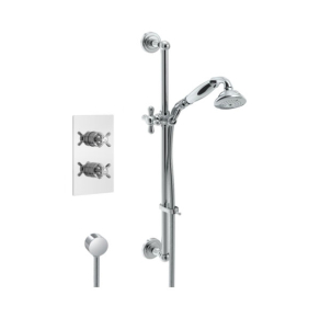 Bristan 1901 Dual Concealed Mixer Shower with Shower Kit 1901 SHWR PK