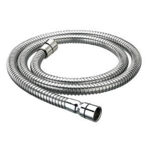 Bristan Cone to Cone Stainless Steel Shower Hose, 2.0m, 8mm Bore, Chrome HOS 200CC01 C