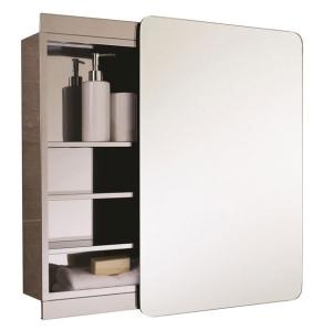 RAK Slide Single Cabinet with Sliding Mirrored Door 660mm H x 460mm W - 12SL366C1 RAK10416
