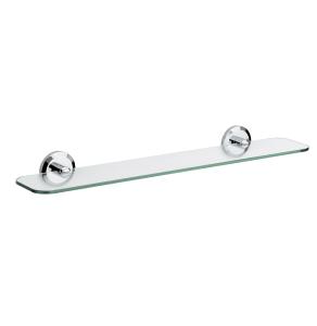 Bristan Solo Glass Shelf Chrome Plated SO SHELF C