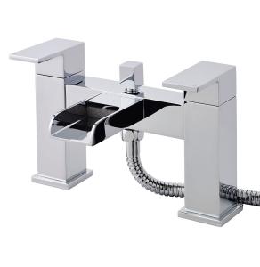 Nuie Strike Chrome Contemporary Bath Shower Mixer - TWF304 TWF304