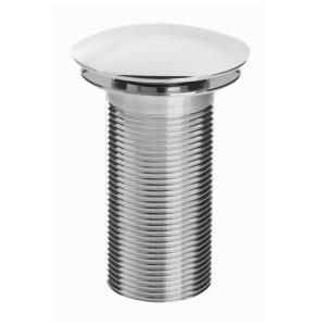 Bristan Round Clicker Basin Waste Chrome - Unslotted W BASIN05 C
