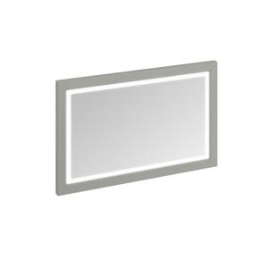 Burlington 120 Fitted Framed LED Bathroom Mirror, 750mm High x 1200mm Wide, Olive BU10467