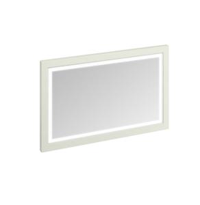 Burlington 120 Fitted Framed LED Bathroom Mirror, 750mm High x 1200mm Wide, Sand BU10468