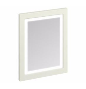 Burlington 60 Fitted Framed LED Bathroom Mirror, 750mm High x 600mm Wide, Sand BU10454