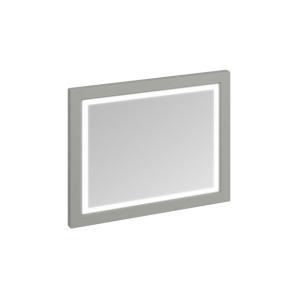 Burlington 90 Fitted Framed LED Bathroom Mirror, 750mm High x 900mm Wide, Olive BU10456