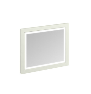 Burlington 90 Fitted Framed LED Bathroom Mirror, 750mm High x 900mm Wide, Sand BU10473