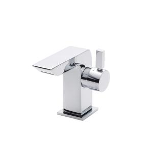 Nuie Bloc Chrome Contemporary Mini Mono Basin Mixer - MIN365 MIN365